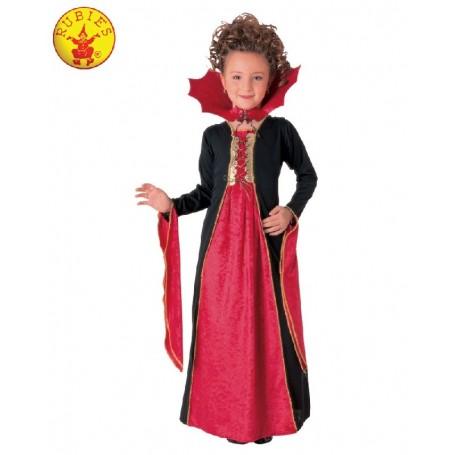 Gothic Vampiress Classic Costume - Child Small