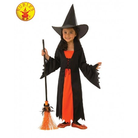 Gothic Witch Costume - Child Large