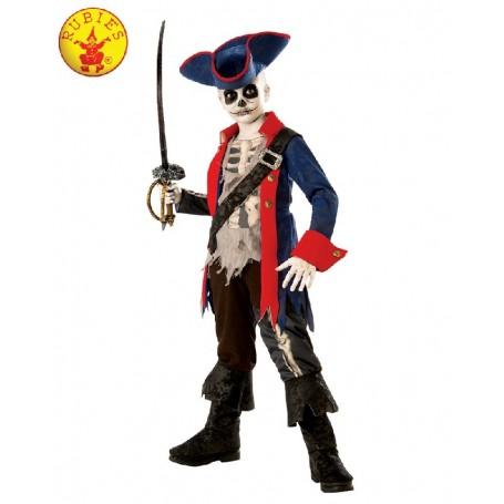 Captain Bones Pirate Costume - Child