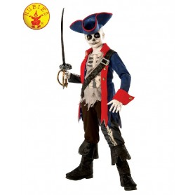 Captain Bones Pirate Costume - Child
