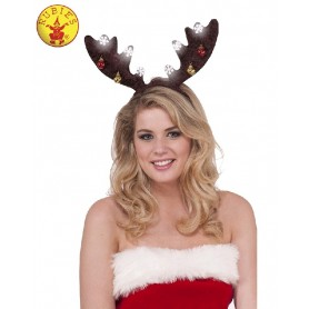 Reindeer Light-up Antlers - Adult