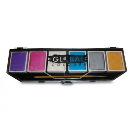 Metallic & Pearl - Global 6 Colour Palette