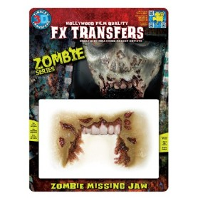 Zombie Missing Jaw 3D FX Transfer - Medium