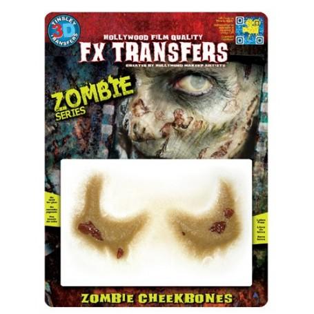 Zombie Cheekbones 3D FX Transfer - Medium