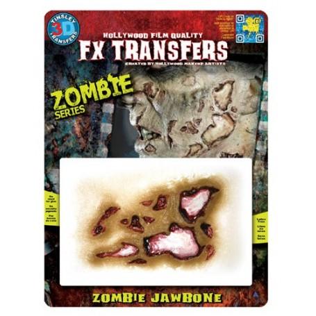 Zombie Jaw Bone 3D FX Transfer - Medium