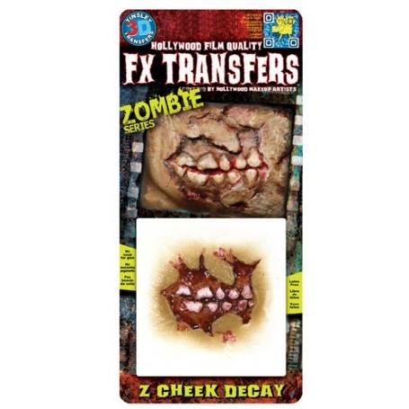Zombie Cheek Decay 3D FX Transfer - Small