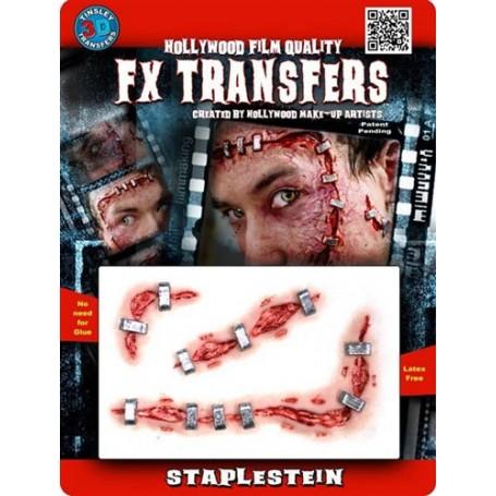 Staplestein 3D FX Transfer by Tinsley - Medium