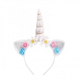 Magical Unicorn Headband - White