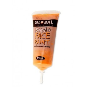 Orange Face Paint - 15mL Tube