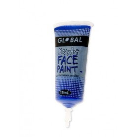 Ultra Blue Face Paint - 15mL Tube