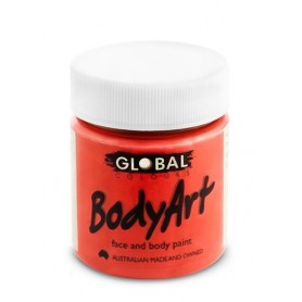 Brilliant Red Face Paint - 45mL Tub