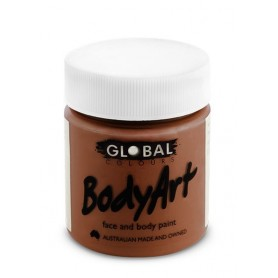 Brown Face Paint - 45mL Tub