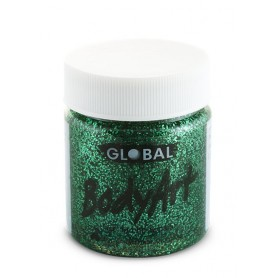 Green Glitter Face Paint - 45mL Tub