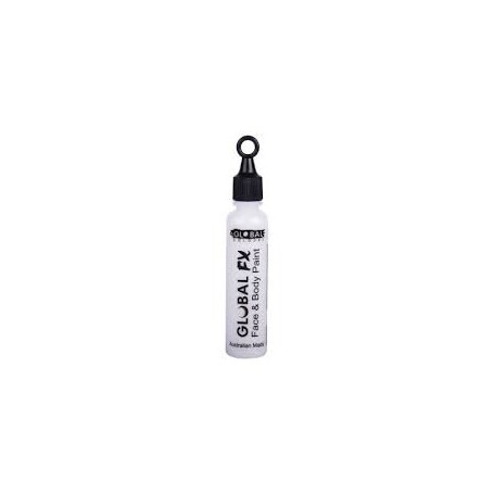 Global FX Face & Body Paint 36 mL- Crystal White