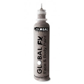 Global FX Glitter Gel 36 mL- Silver