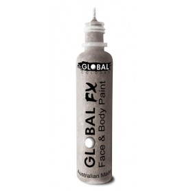 Global FX Glitter Gel 36 mL - Holographic Silver