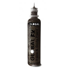 Global FX Glitter Gel 36 mL - Jet Black