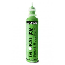 Global FX Glitter Gel 36 mL - Fluro/Neon Green