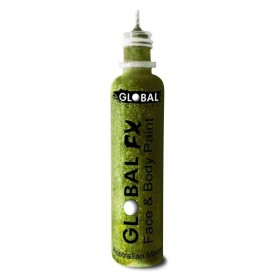 Global FX Glitter Gel 36 mL - Lime Green