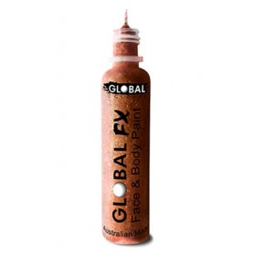 Global FX Glitter Gel 36 mL - Copper