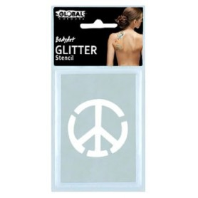 Global Glitter Tattoo Stencil - GS32