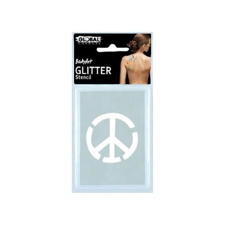 Global Glitter Tattoo Stencil - GS32