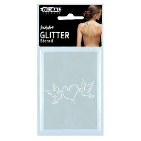 Global Glitter Tattoo Stencil - GS44