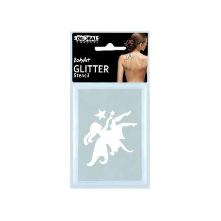 Global Glitter Tattoo Stencil - GS28