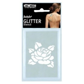 Global Glitter Tattoo Stencil - GS12