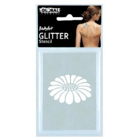 Global Glitter Tattoo Stencil - GS13