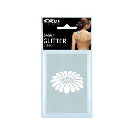 Global Glitter Tattoo Stencil - GS13