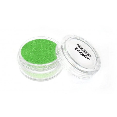 Global Cosmetic Glitter - Fluro/Neon Green 4g