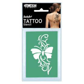 Global Temporary Tattoo Stencil - TS2