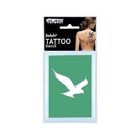 Global Temporary Tattoo Stencil - TS21
