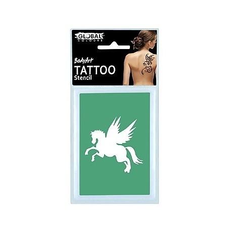 Global Temporary Tattoo Stencil - TS18
