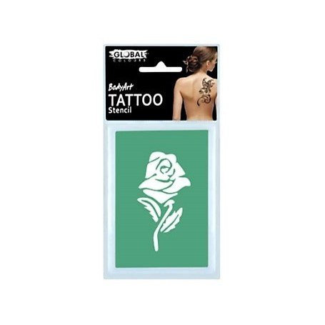 Global Temporary Tattoo Stencil - TS6