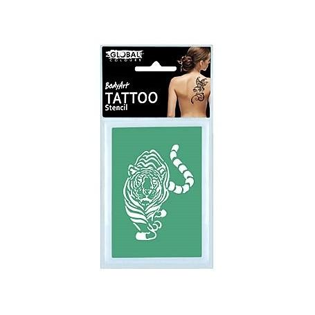 Global Temporary Tattoo Stencil - TS35