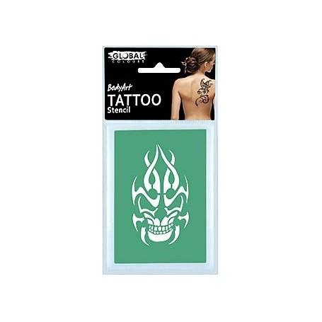 Global Temporary Tattoo Stencil - TS26