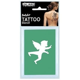Global Temporary Tattoo Stencil - TS30