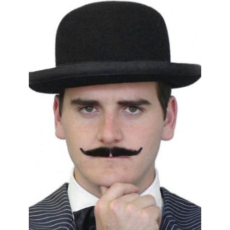 Moustache - 'Poirot' Black