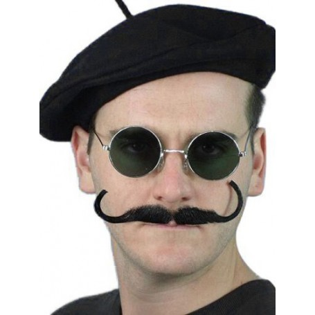 Moustache 'Movie Director' - Black