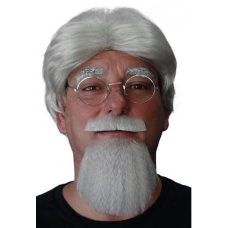 Beard 2 Piece - 'The Colonel' - Grey