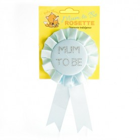 Baby Shower Mum To Be Rosette - Blue