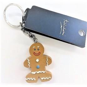 Gingerbread Man - Keyring