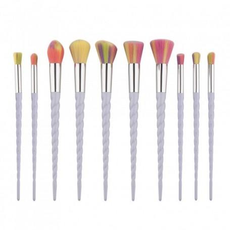 10 Piece Pro Unicorn Brush Set