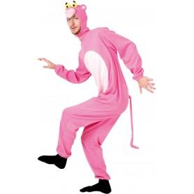 Pink Cat Onesie - Adult Unisex
