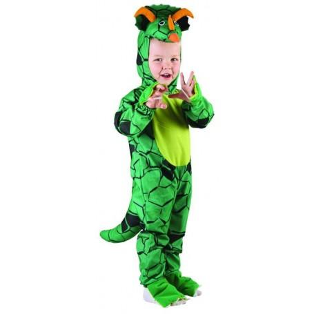 LIL Triceratops Dinosaur Jumpsuit - Toddler