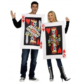 King & Queen of Hearts - Couple Costume