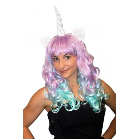Deluxe Unicorn Pastel Wig