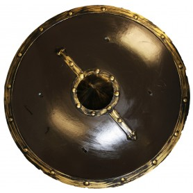 Warrior Shield - Black/Gold